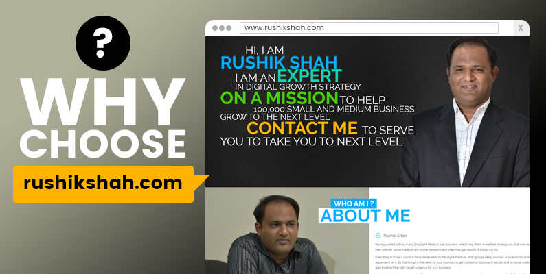 Why Choose Rushikshah.com